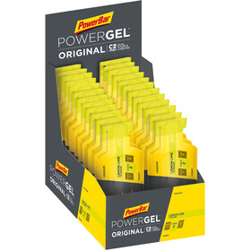 PowerBar PowerGel Original Sacoche 24 x 41g, Lemon-Lime